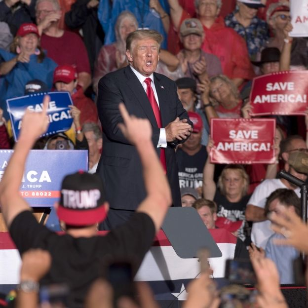 Wahl-Schocker! Nach Sieg über Biden zurück im Weißen Haus (Foto)