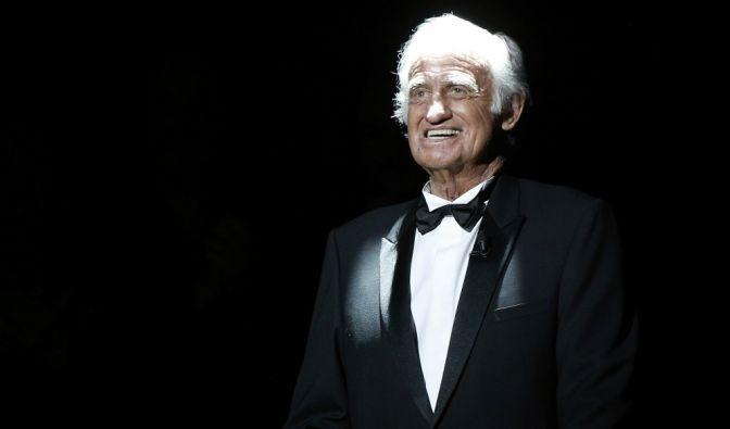 Jean-Paul Belmondo, französischer Schauspieler (09.04.1933 - 06.09.2021) (Foto)