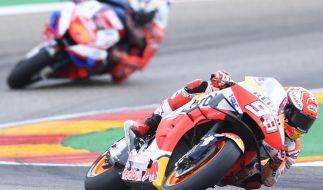 MotoGP 2021 in Aragonien