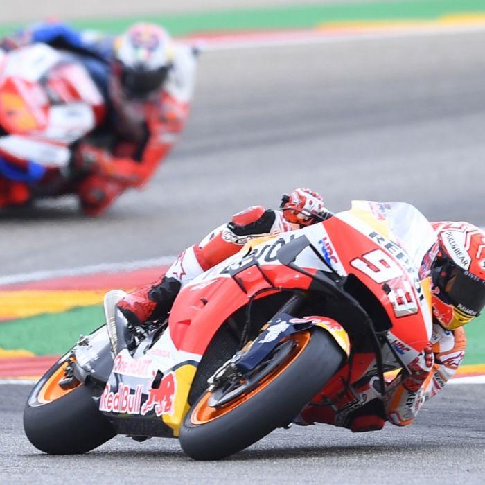 Alle Ergebnisse der Rennen beim Grand Prix von Aragon (Foto)