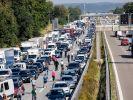 Kein Durchkommen auf der Autobahn: Der ADAC warnt für das Wochenende vom 10. bis 12. September 2021 vor Stau-Gefahr zum Sommerferien-Ende in Bayern und Baden-Württemberg. (Foto)