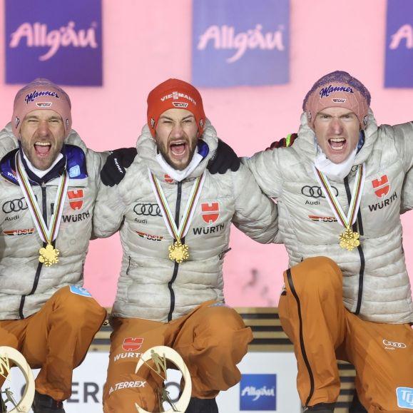 Alle Termine der Skisprung-Herren und -Damen auf einen Blick (Foto)