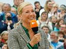 """Andrea Kiewel stand im """"ZDF-Fernsehgarten"""" nur bedingt im Mittelpunkt. (Foto)"""