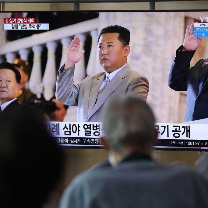 Nordkorea-Diktator plötzlich wieder ganz dick dabei (Foto)