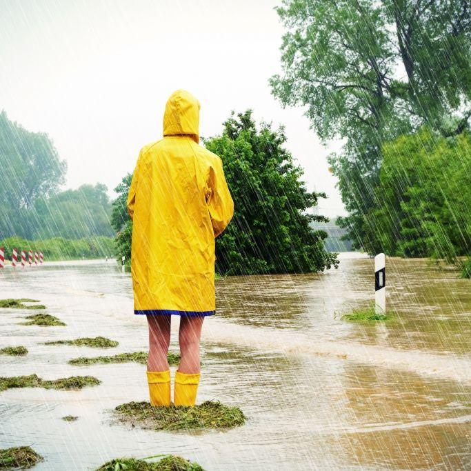Achtung, Hochwasser-Gefahr! Tief Roland flutet Deutschland (Foto)