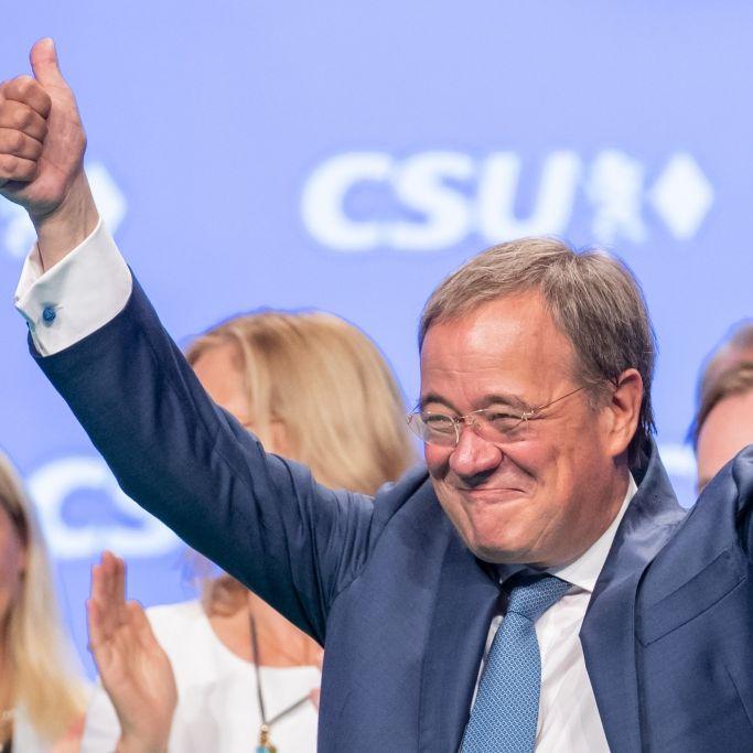 Trendwende trotz Umfragetief! Macht ihn Angela Merkel zum Bundeskanzler? (Foto)