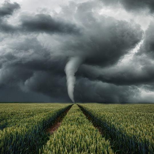 Tornado-Alarm und Regengüsse! Hier ist die Gefahr besonders groß (Foto)