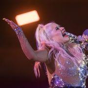Christina Aguilera gab auf der Bühne wieder alles. (Foto)