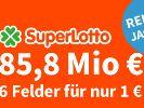 Am Samstag liegen jetzt 85,8 Millionen Euro im Superlotto-Jackpot. (Foto)