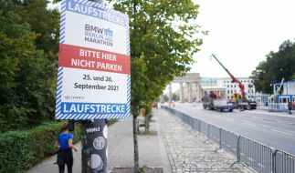 Zum Berlin Marathon am 26. September 2021 werden 25.000 Läufer und Läuferinnen erwartet. (Foto)