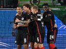 Eintracht Frankfurt muss gegen Royal Antwerpen ran. (Foto)