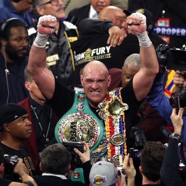 Fury verteidigt mit K.o.-Sieg WM-Titel im Schwergewichtsboxen (Foto)