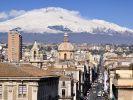 Sturmtief Christian fegt über Südeuropa. In der Stadt Catania tobte sogar ein Tornado. (Foto)