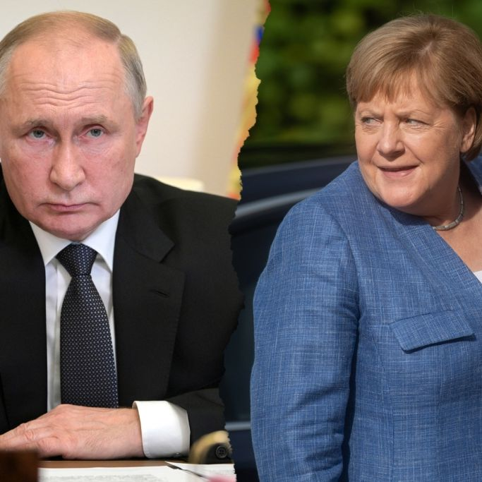 """Danke, Merkel! Experten fürchten """"Gas-Krieg"""" mit Putin (Foto)"""