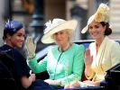 Meghan Markle fühlte sich im britischen Königshaus nicht willkommen - doch bestimmte Fotos überführen die Herzogin von Sussex der Lüge. (Foto)