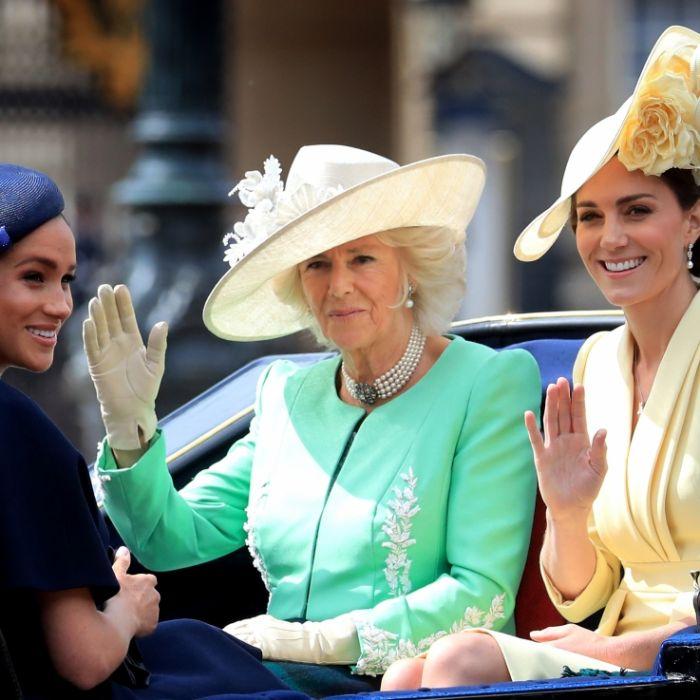 Herzogin Camilla kann's beweisen! So hat Meghan Markle geflunkert (Foto)