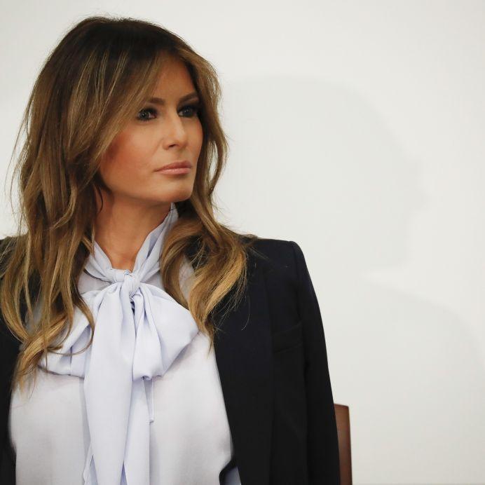 Vollkommen abgetaucht! Kein Lebenszeichen von Donald Trumps Frau (Foto)