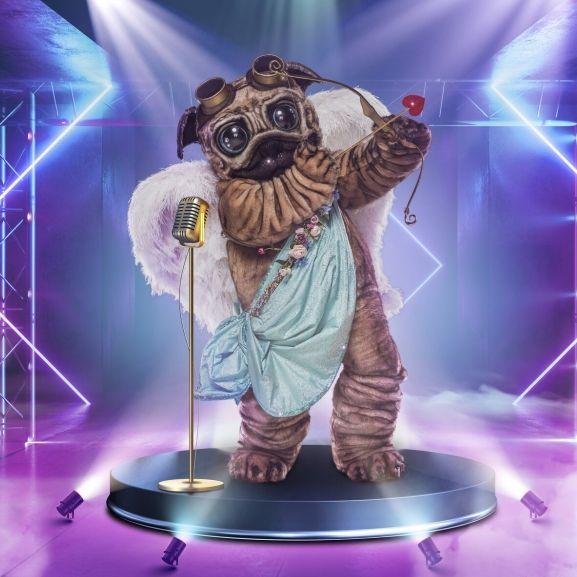 """Bühne frei für den Mops! Doch wer steckt in dem knuffigen Hundekostüm in Staffel 5 von """"The Masked Singer"""" 2021? (Foto)"""
