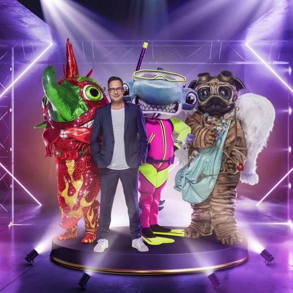 """Welche Songs werden Chili, Hammerhai und Mops bei """"The Masked Singer"""" 2021 auf der Bühne zum Besten geben? (Foto)"""
