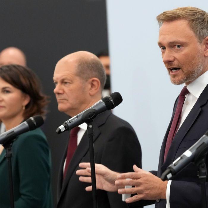 Ampel-Sondierungspapier steht! So planen SPD, Grüne und FDP für Deutschland (Foto)