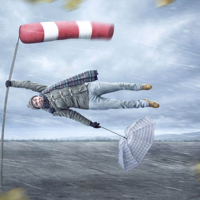 Droht uns ein Halloween-Orkan? Wettermodell schlägt Alarm (Foto)