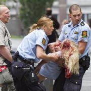 Bei dem Anschlag in Oslo kamen sieben Menschen ums Leben. Mehrere wurden schwer verletzt.