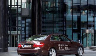 Ab 2012: Mercedes E-Klasse als Hybrid (Foto)