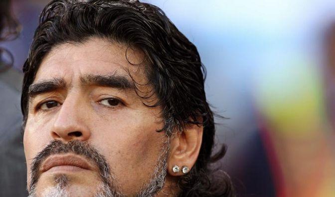 Ab in die Wüste: Maradona wird Trainer in Dubai (Foto)