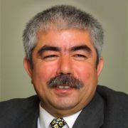 Der Usbekengeneral Abdul Raschid Dostum.