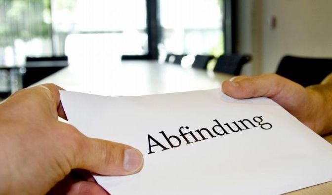 Abfindung nach Kündigung (Foto)