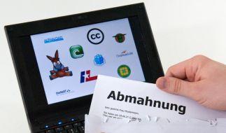 Abgemahnt wegen Downloads: Über Forderung verhandeln (Foto)