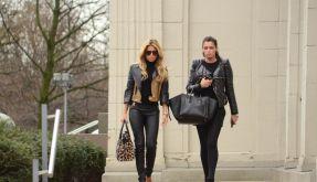 Ablenkung nach der Trennung: Sylvie van der Vaart (links) und Sabia Boulahrouz gehen erst einmal shoppen. (Foto)