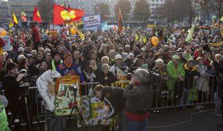 Abschlusskundgebung des Aktionsbündnisses gegen Stuttgart 21 (Foto)