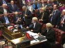 Abstimmung im britischen Oberhaus am 13. März zum Brexit-Gesetz. Das britische Parlament hat am Montag das Brexit-Gesetz verabschiedet. (Foto)