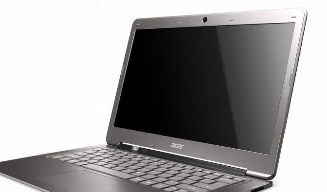 Acer will flauen PC-Markt mit «Ultrabook» beleben (Foto)