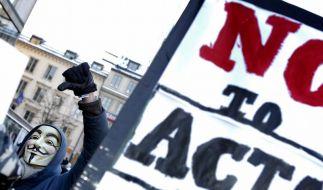 ACTA-Abkommen bringt Netzgemeinde auf Barrikaden (Foto)