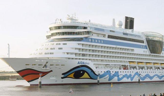 ADAC testet Kreuzfahrtschiffe - Aida Branchenbester (Foto)