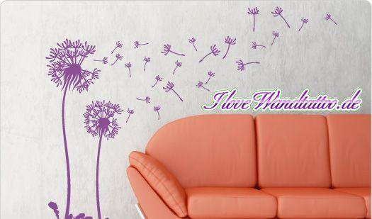Ade fade Raufaser, hallo stylisches Wohnzimmer: Mit Aufklebern von I Love Wandtattoo wird jedes Zimmer zum Unikat. (Foto)