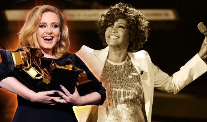 Adele und Whitney Houston (Foto)