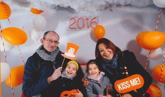Adelma mit ihrem Mann und den zwei Töchtern - sie starb bei dem Terroranschlag im Brüsseler Flughafen. (Foto)