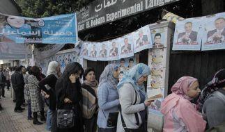 Ägypten im Wahlfieber: Islamisten auf Kurs zur Macht (Foto)