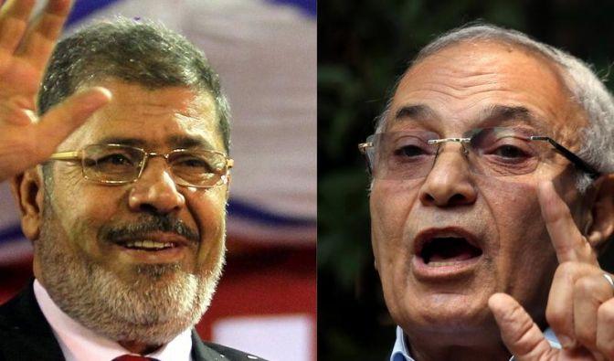 Ägypten: Mursi und Schafik in Stichwahl (Foto)