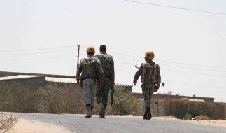 Ägyptens Luftwaffe greift Extremisten auf dem Sinai an (Foto)