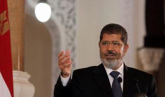 Ägyptens Präsident Mursi besucht EU-Spitze (Foto)