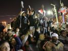 Ägypter feiern Jahrestag des Aufstandes gegen Mubarak (Foto)