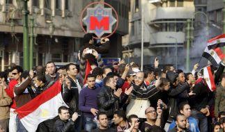 Ägyptische Regierung will neue Proteste abwürgen (Foto)