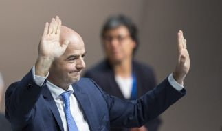 Ära Blatter endet: Gianni Infantino ist der neuen FIFA-Präsident. (Foto)