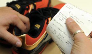 Ärger beim Reklamieren vermeiden: Kassenbon kopieren (Foto)