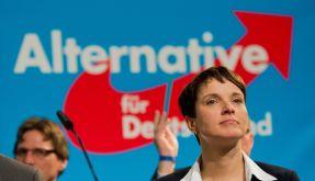 AfD-Parteivorsitzende Frauke Petry beim Bundesparteitag im November 2015. (Foto)