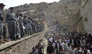 Afghanen sollen nach Willen der Bundesregierung erst gar nicht Richtung Europa aufbrechen. (Foto)